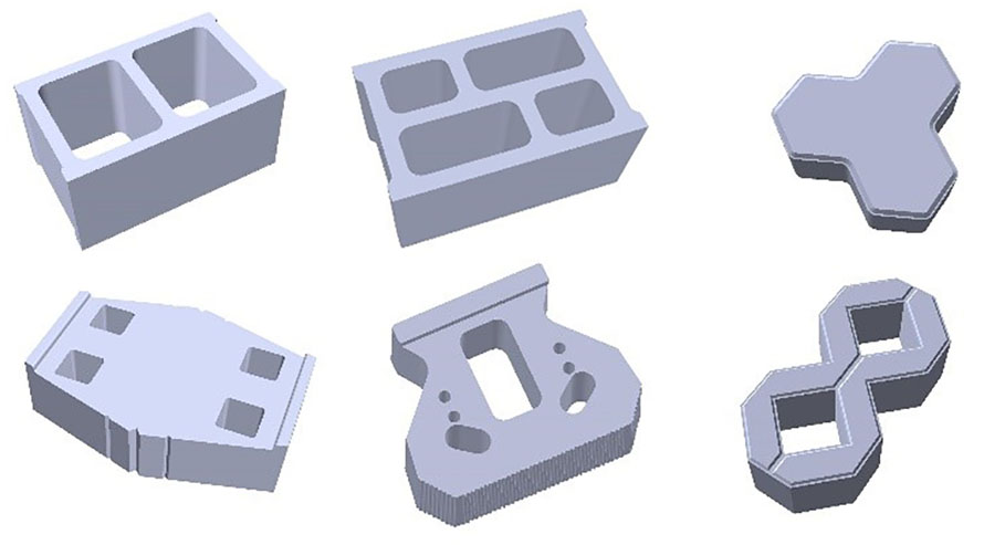 ALL KINDS OF BLOCK CAN MAKE
