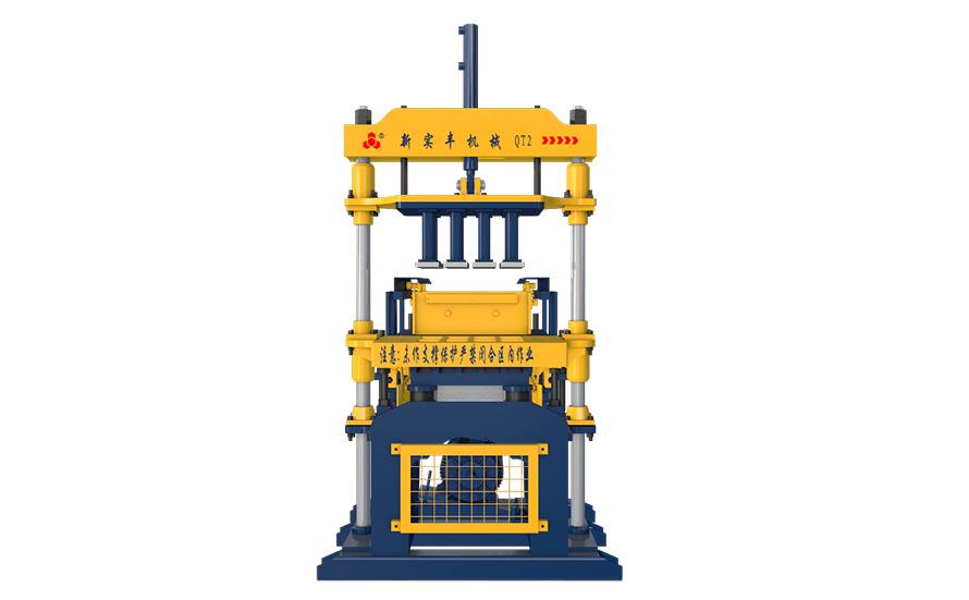 Small brick&block machine
